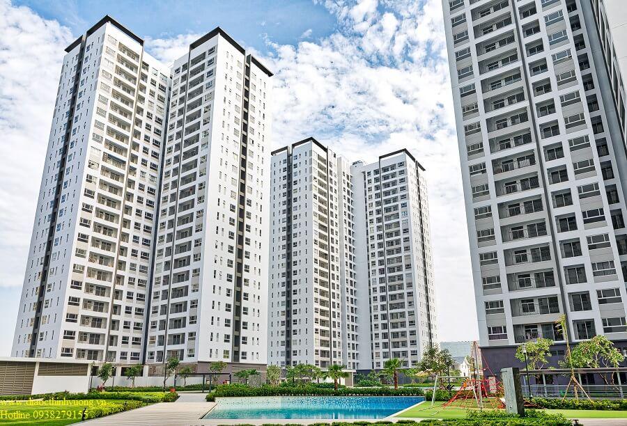 Các tháp căn hộ đã bàn giao và gần hết sản phẩm từ chủ đầu tư.