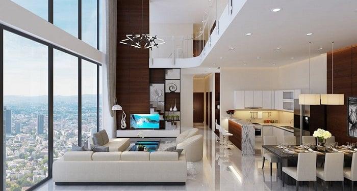 Căn hộ duplex xuất hiện tại các dự án cao cấp từ năm 2010