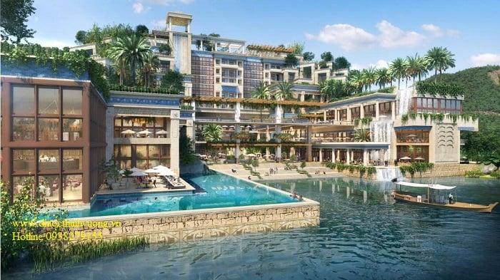 Khách sạn vườn treo Babylon tại Novaworl Hồ Tràm