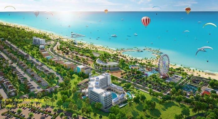 Dự án tổ hợp vui chơi giải trí Nova World Phan Thiết rộng đến 1000 ha