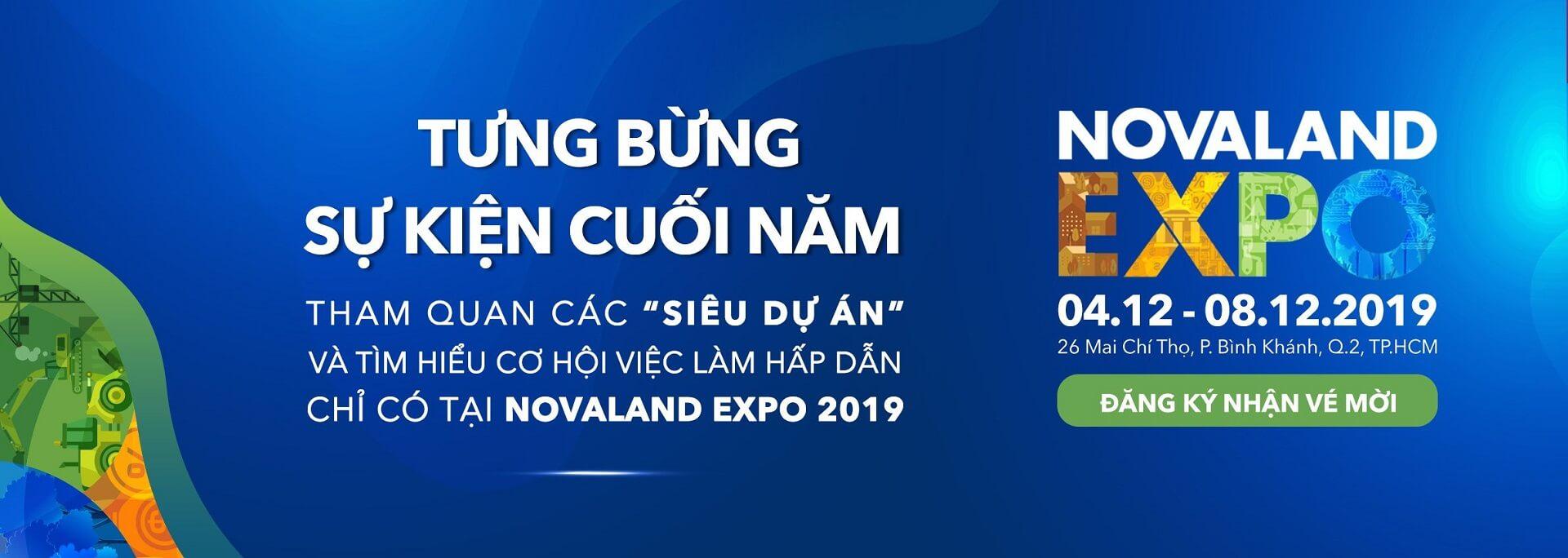Sự kiện Novaland Expo 2019