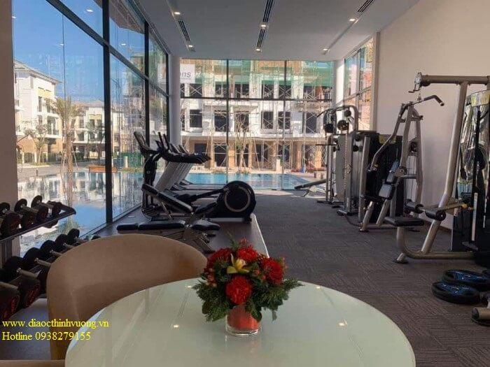 Khu phòng Gym cũng hoàn thành 90%