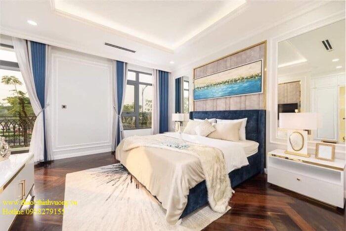 Phòng ngủ nhà mẫu tại dự án Verosa Khang Điền