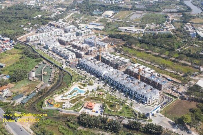 Tổng thể thực tế dự án Verosa Khang Điền