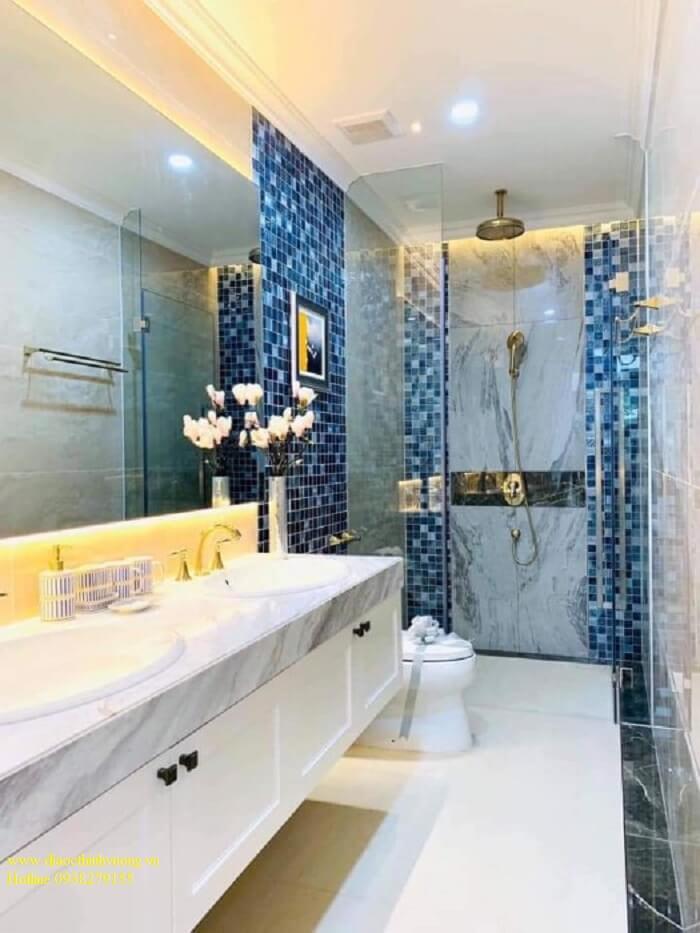 Nhà vệ sinh rộng, đẳng cấp xứng tầm.