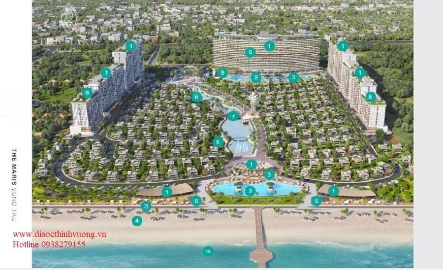 Các tiện ích chuẩn Resort 5* tại Maris