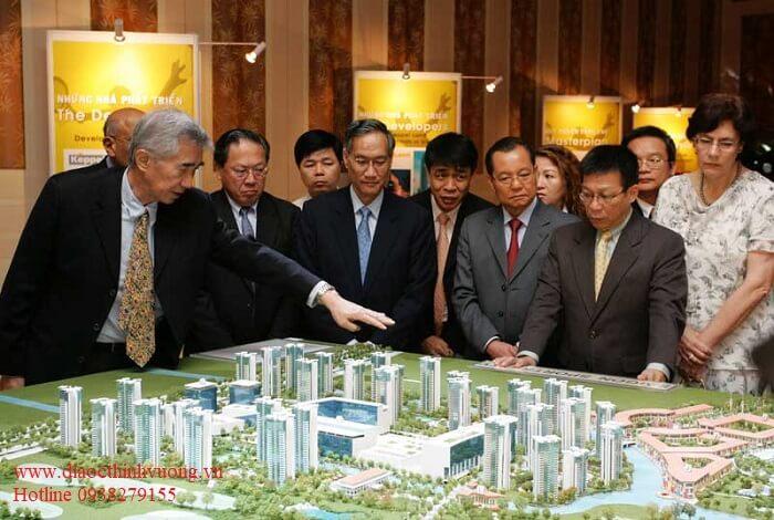 Keepel Land đưa thông tin đến với các khách mời, chuyên gia trong và ngoài nước Việt Nam.