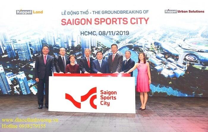 Lễ động thổ dự án Saigon Sports City