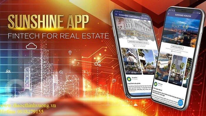 Sunshine App dành cho cư dân của Sunshine Group