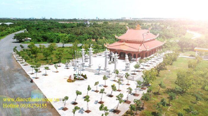Một công trình Văn Hóa Tâm Linh bên trong khu Sơn Tiên cũng sắp hoàn thành