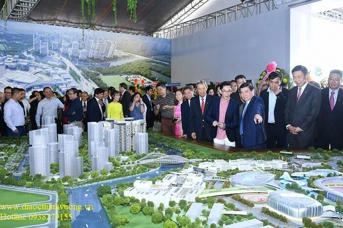 Đông đảo khách mời đã đến tham gia sự kiện giới thiệu Saigon Sports City