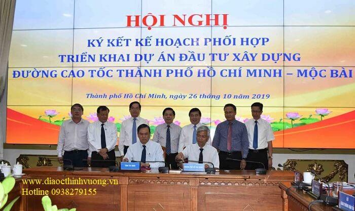 Lễ ký kết hợp tác xây dựng cao tốc TP HCM Mộc Bài