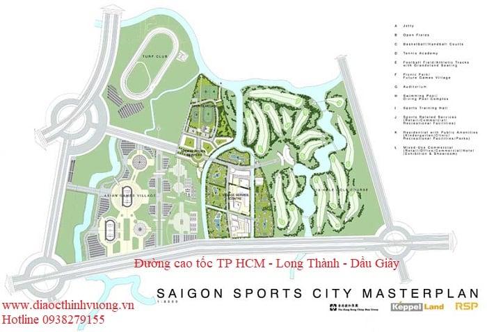 Một mặt tiếp giáp đường cao tốc TP HCM - Long Thành - Dầu Giây