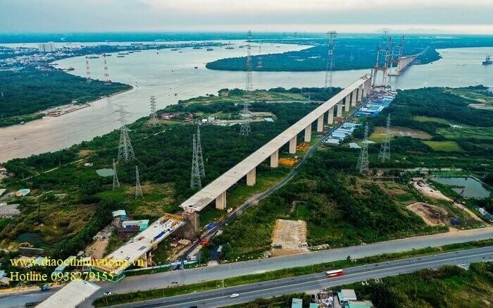 Cầu Phước Khánh là một đoạn trong hành trình của cao tốc Bến Lức - Long Thành