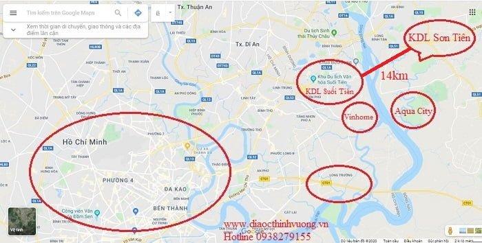 Từ Sơn Tiên qua Suối Tiên khoảng 14km