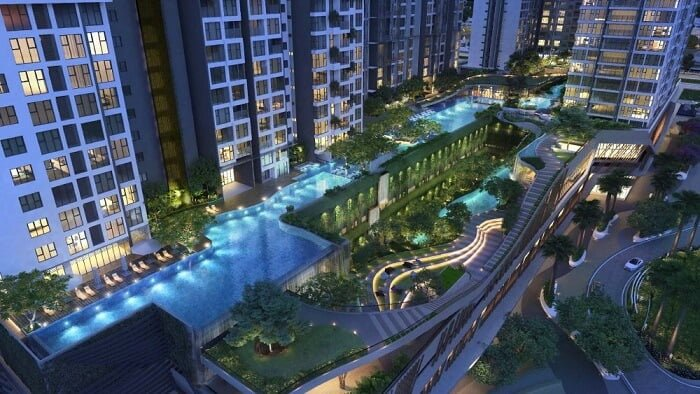 Dự án Feliz en Vista của Capitaland với nhiều tiện ích hiện đại cao cấp hấp dẫn dân cư