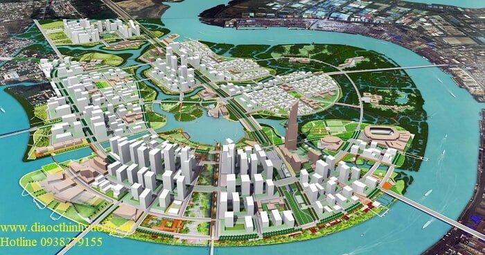 Quy hoạch khu đô thị mới Thủ Thiêm sau khi hoàn thiện