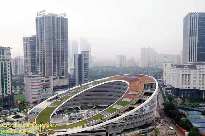 Tòa nhà trụ sở của Viettel ở Cầu Giấy - Hà Nội.