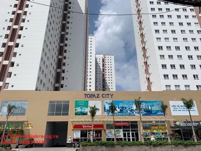 Dự án Topaz City quận 8
