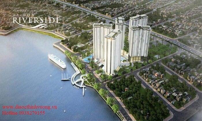 Bến du thuyền hoặc các công trình khác phục vụ cho cư dân cũng được tính vào chi phí xây dựng