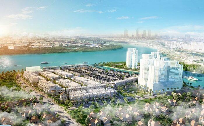 Phối cảnh dự án Saigon Mystery Villas quận 2