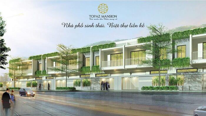 Topaz Mansion là dự án nhà sinh thái đầu tiên của Vạn Thái Land thu hút đông đảo sự chú ý từ khách hàng