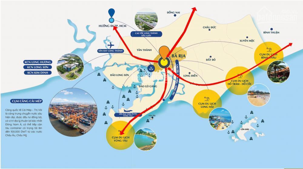 Hạ tầng giao thông - Cú hích bứt phá cho bất động sản Vũng Tàu