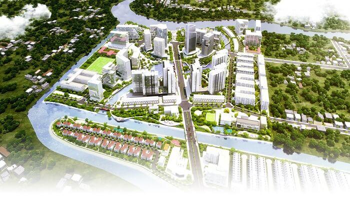 Sự phát triển mạnh mẽ các khu đô thị của Nam Long Group