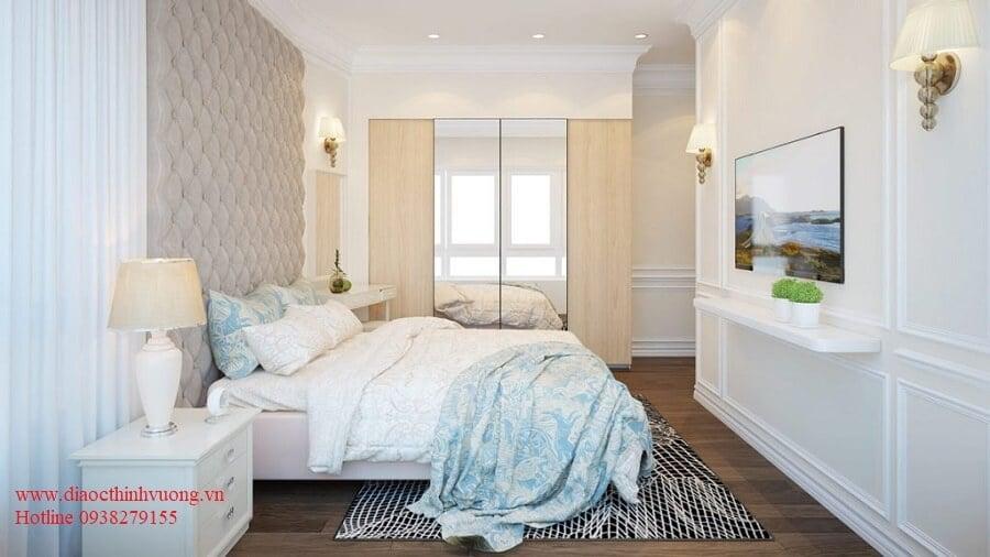 Các phòng ngủ tại Thủ Thiêm Dragon luôn có đầy đủ nắng gió tự nhiên