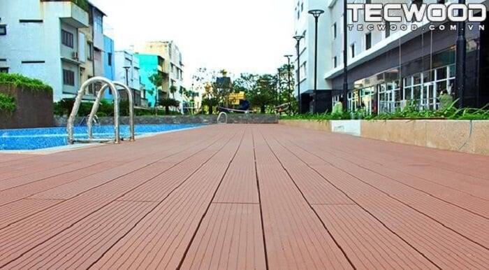 Sàn gỗ ngoài trời vừa có tính thẩm mỹ, vừa có độ bền cao