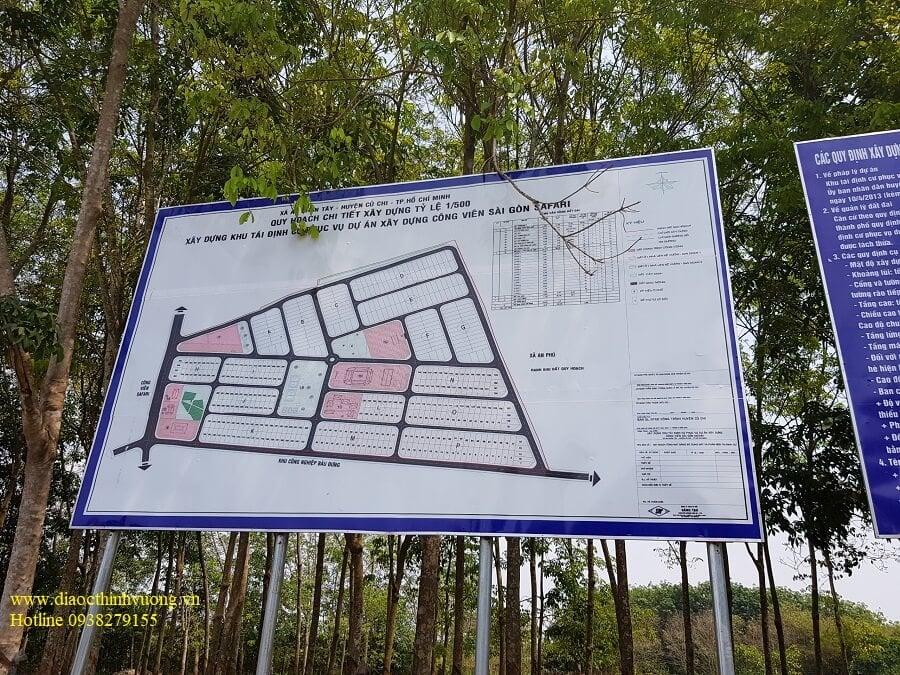 Quy hoạch khu tái định cư Saigon Safari