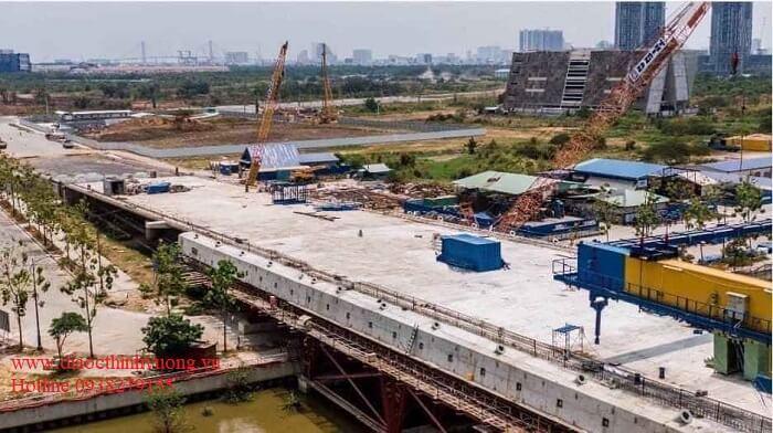 Tiến độ xây dựng mới nhất vào tháng 3 năm 2020
