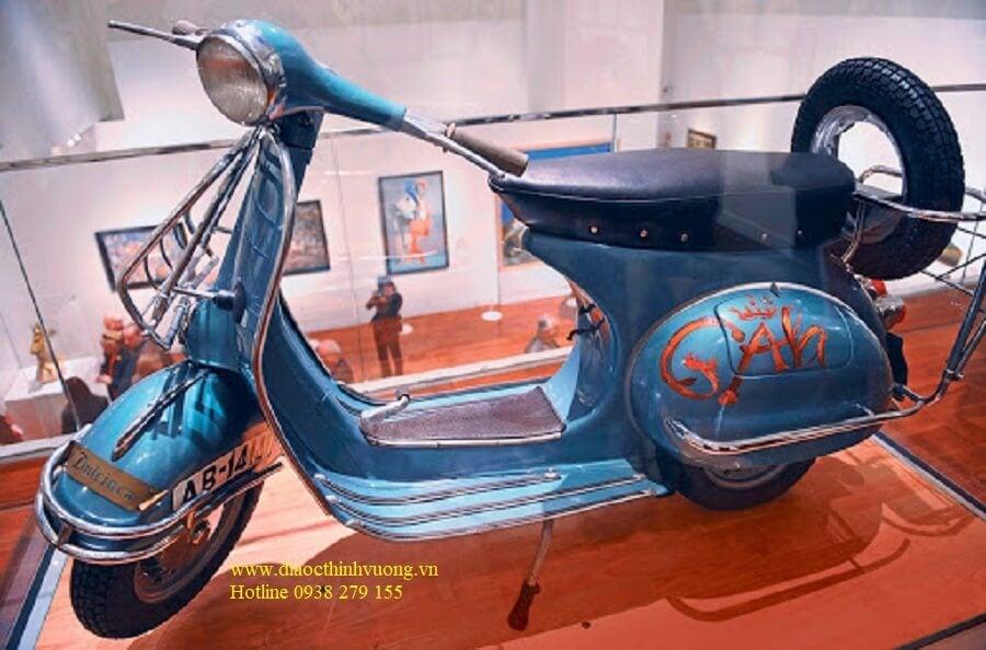 Xe Vespa cổ từ lâu đã trở thành các báo vật được săn tìm
