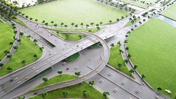 Nơi đây còn được hưởng lợi từ hàng loạt dự án giao thông hiện đại