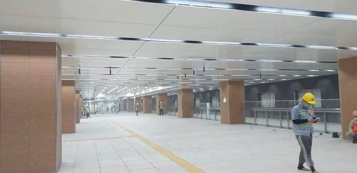 Hình ảnh nhà ga ngầm chờ khác của tuyến Metro số 1