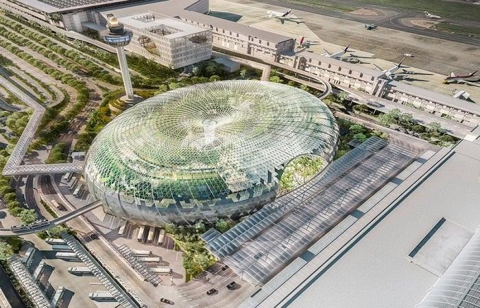 Changi được xem là đô thị sân bay đẹp nhất, hiện đại nhất trên thế giới