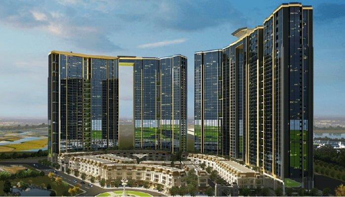 Sunshine City Hà Nội được xây dựng bởi Hòa Bình