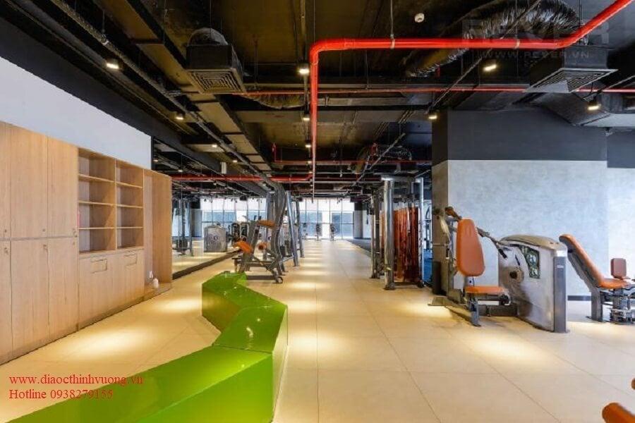 Hệ thống phòng Gym hiện đại và thông thoáng tại The Sun Avenue