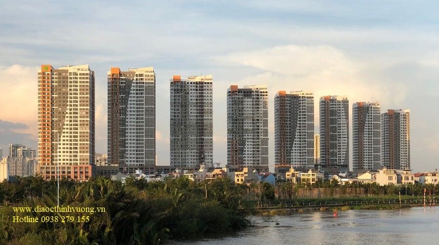 Hình ảnh thực tế ven sông của The Sun Avenue