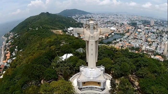 Tượng chúa Kitô Vua là biểu tượng của Thành Phố Vũng Tàu