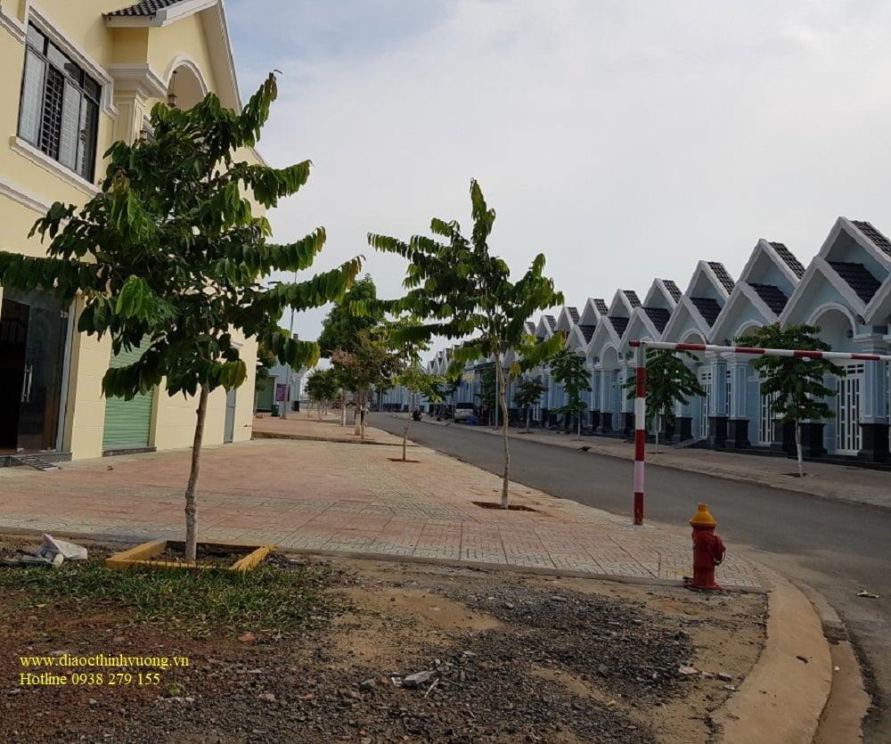 Hình ảnh mới nhất khu nhà ở xã hội, tái định cư TP Đồng Xoài