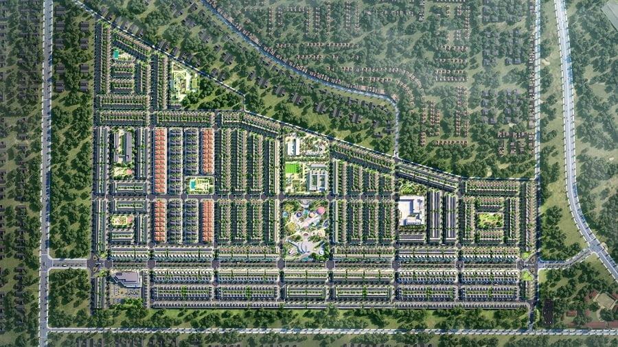 Toàn cảnh dự án Gem Sky World nhìn từ trên cao