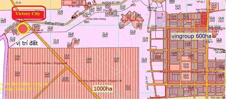 Và cạnh khu đô thị công nghiệp do Vin Group đầu tư 600 ha