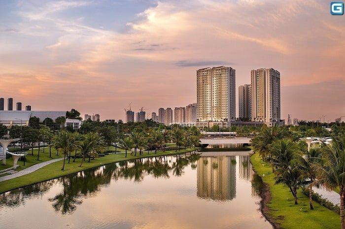Hình ảnh thực tế khu đô thị Sala Đại Quang Minh