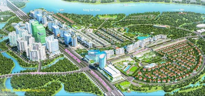 Khu đô thị Sala với tổng quy mô lên đến 107 ha