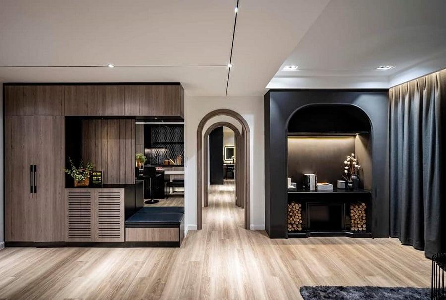 Hình ảnh thực tế khi khách thiết kế nội thất vào căn hộ tại Palm City
