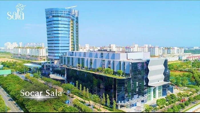 Socar Mall lấy ý tưởng từ hình ảnh viên kim cương sang trọng