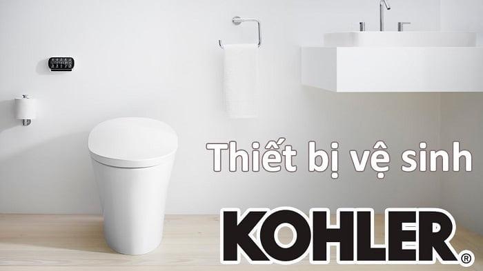 Thiết bị vệ sinh mang thương hiệu Kohler
