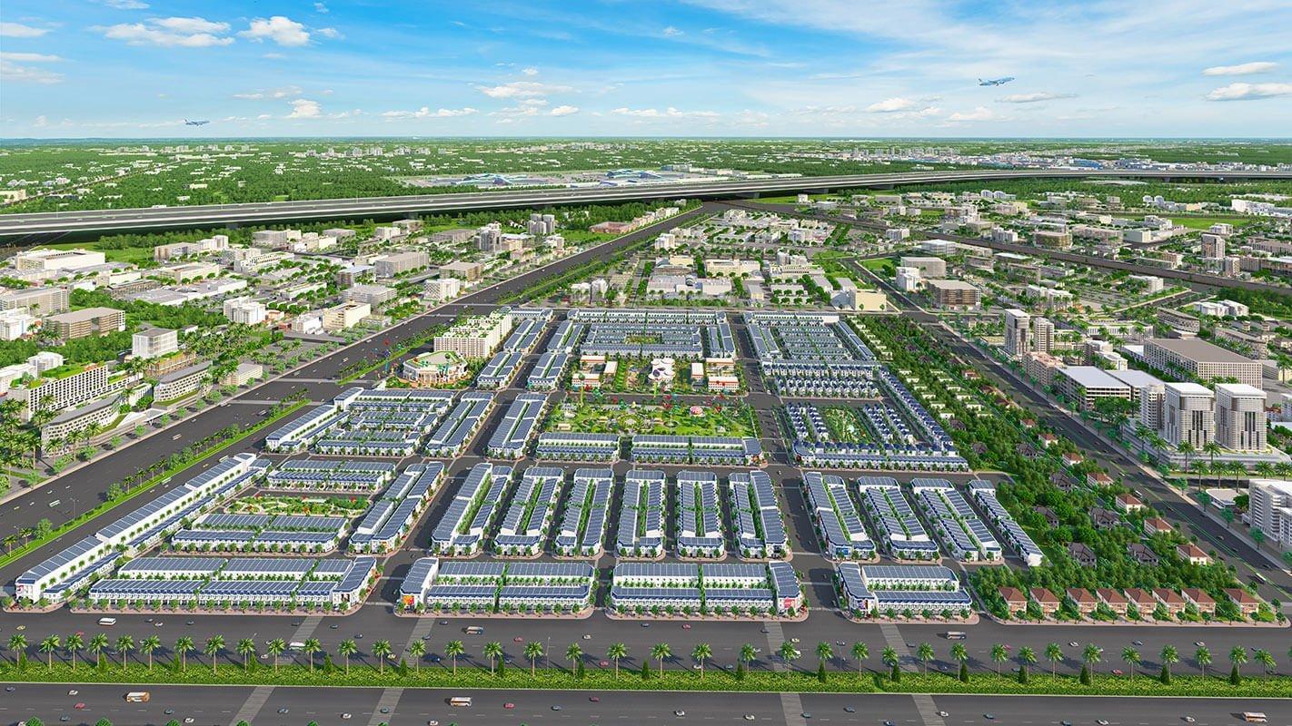 Tổng thể dự án Century City Long Thành