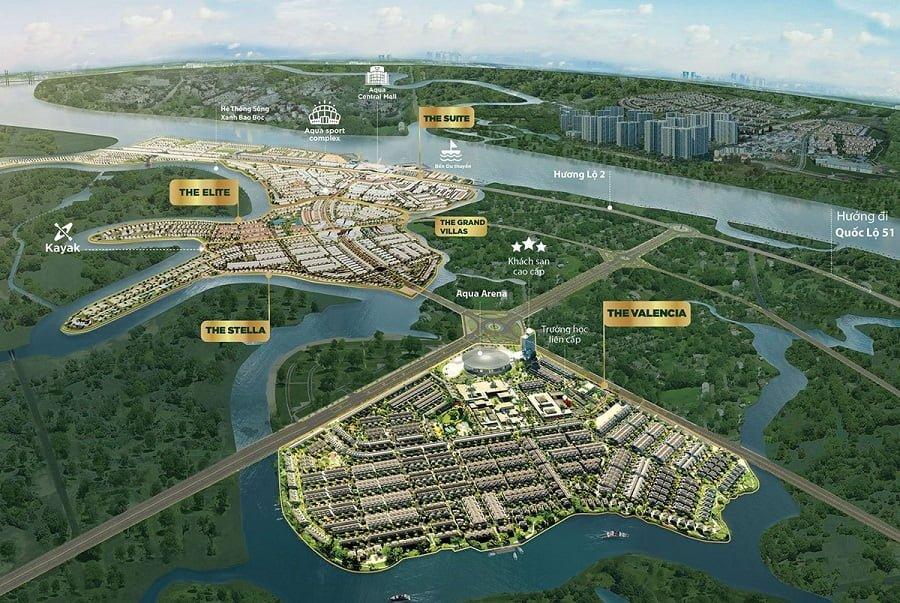 Tổng quan dự án Aqua City của Novaland